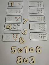 Hračky - Čísla a množstvá - dva varianty - 10669194_