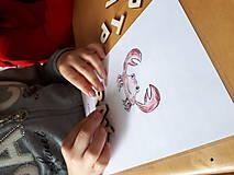 Hračky - Kreatívne písmenká ABECEDA – tvorenie prvých slov (Kreatívne písmenká ABECEDA – tvorenie prvých slov + súbory mailom) - 10669295_