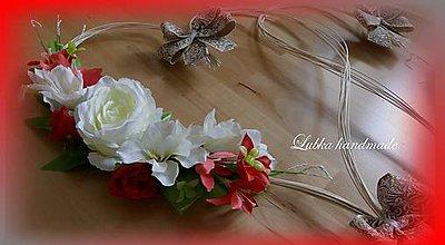 """Dekorácie - Výzdoba svadobného auta """"NATUR"""" - 10668866_"""
