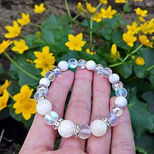 Náramky - Luxusná perleť  - kráľovná nehy - 10669126_