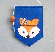 Detské doplnky - Navrhni si vlajku do detskej izby! (indiánske pierka) - 10668230_