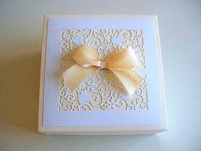 Krabičky - svadobná krabička pre družičky - 10669050_
