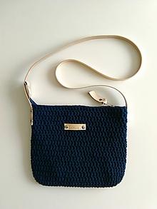 Kabelky - Dark blue Stella - 10670496_