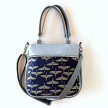 Veľké tašky - Big Sandy - Divé husy - Metalická farba - 10669006_