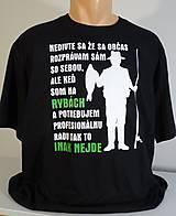 Topy, tričká, tielka - RYBÁR - profík - 10670927_