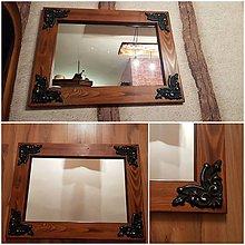 Zrkadlá - Zrkadlo rustik - 10670797_