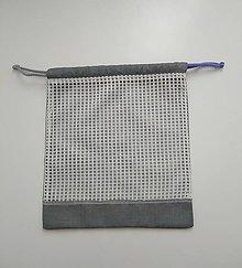 Iné tašky - Nákupné vrecko (Strieborná) - 10669400_