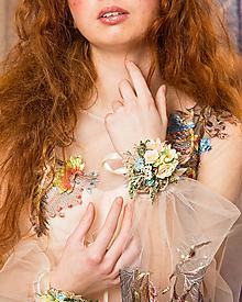 Náramky - Kvetinový náramok