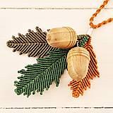 Náhrdelníky - Macramé náhrdelník - 10670105_