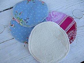 Úžitkový textil - Tampóny pre dojčiace mamičky-extra silné s PUL,kvety - 10670499_