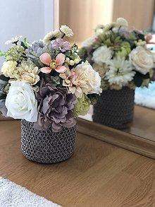 Dekorácie - Kvetinova dekoracia - 10670591_
