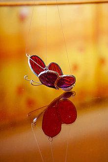 Dekorácie - Motýľ - 10670610_