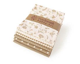 Textil - Bavlnené látky - balíček TFQ139 - 10668885_