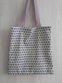 Nákupné tašky - Taška na nákupy s vreckom na eko sáčky - 10668200_