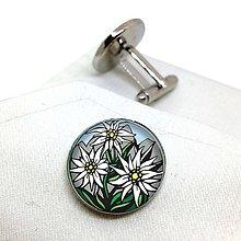 Šperky - Plesnivec (manžetové gombíky) - 10672626_