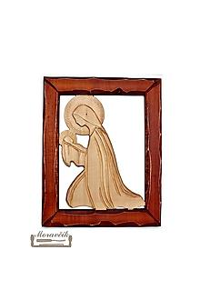 Obrazy - Drevorezba - Madona s dieťaťom - 10671800_
