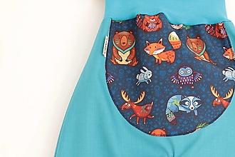 """Detské oblečenie - Softshellky jarné """"wild life"""" - 10673058_"""