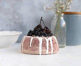 Dekorácie - Mini sladká tortička - 10672678_