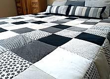 Úžitkový textil - Prehoz Čierno-Biely svet - 10671309_