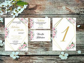 Papiernictvo - Svadobné oznámenia 23 - 10671434_