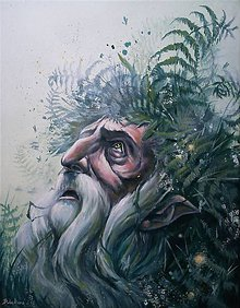 Obrazy - Faunova prosba - 10673459_