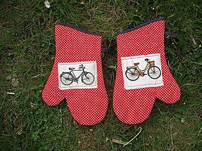 Úžitkový textil - rukavice bicykel - 10673283_