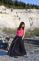 Sukne - Sukňa Claire- tmavomodrá - 10671195_