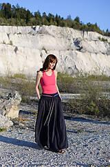 Sukne - Sukňa Claire- tmavomodrá - 10671202_