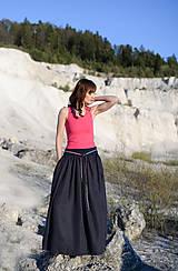 Sukne - Sukňa Claire- tmavomodrá - 10671204_