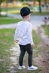 Detské oblečenie - Mikina ručne maľovaná - RVL - 10671803_