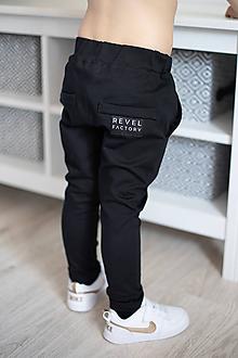 Detské oblečenie - Tepláky Revel - Čierna - 10671818_