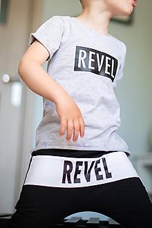 Detské oblečenie - Tepláky - Revel - 10671970_