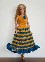 Hračky - Háčkované šatičky pre Barbie - 10671961_