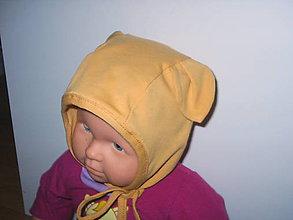 Detské čiapky - čiapočka pre najmenších - 10673488_
