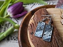 Náušnice - Marble earrings - 10671905_