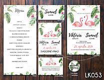 Papiernictvo - Svadobné oznámenie LK053 - 10671903_