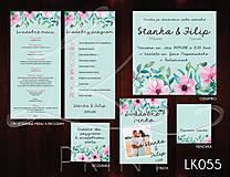 Papiernictvo - Svadobné oznámenie LK055 - 10671907_