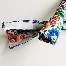 Textil - Obal na rúčku kočíka do 35cm obojstranný - 10673492_