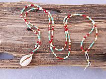Letný náhrdelník s mušlou