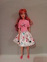 Hračky - Šaty pre bábiku Barbie - 10676020_