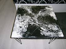 Nábytok - lel art stolík /video- konferenčný II. - 10676115_