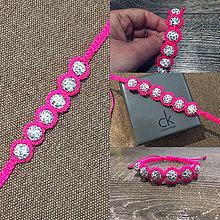 Náramky - Shamballa bracelet - 10675858_