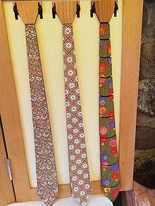Doplnky - Drevená kravata - 10674794_