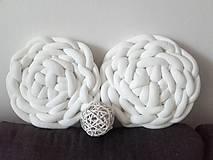 Úžitkový textil - KNOT vankúšiky  - 10674606_