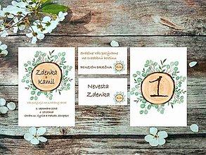 Papiernictvo - Svadobné oznámenia 19 - 10674930_
