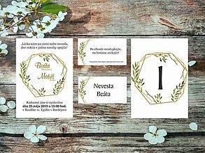 Papiernictvo - Svadobné oznámenia 1 - 10674940_