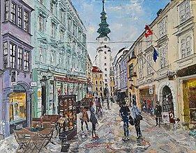 Obrazy - V meste - 10676599_