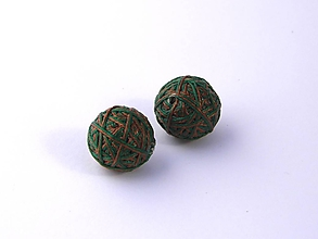 Materiál ručne robený - Korálky pár klbiek 2 - 10674899_