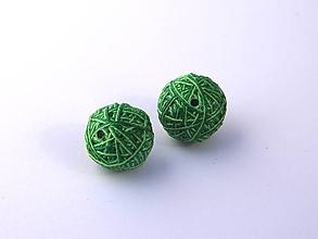 Materiál ručne robený - Korálky pár klbiek 3 - 10674944_