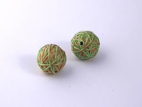 Materiál ručne robený - Korálky pár klbiek 4 - 10674952_